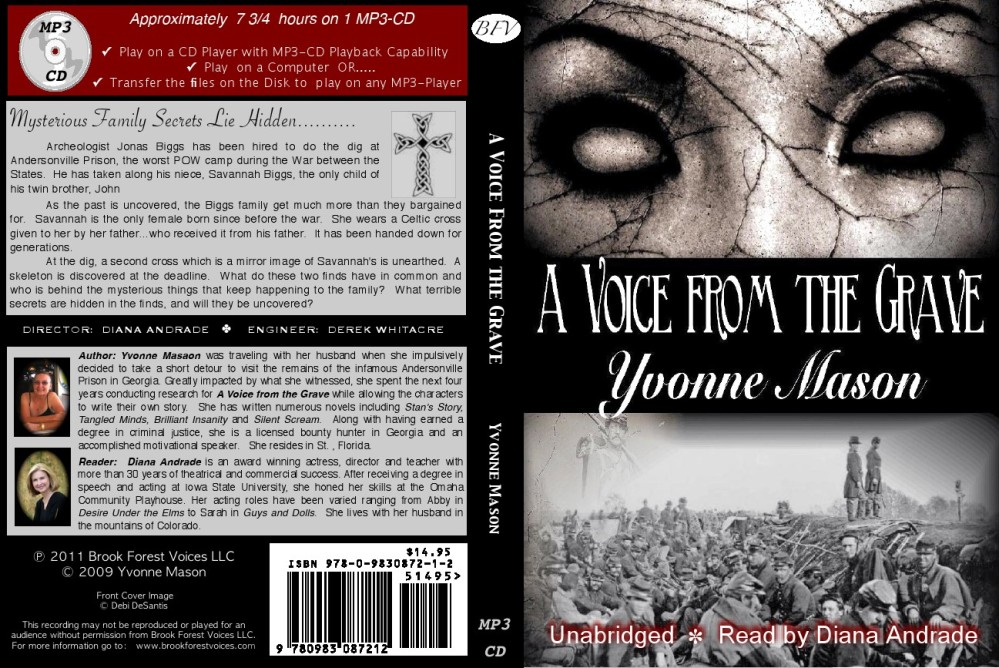 My Newest Audio Book A Voice From the Grave