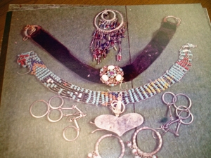 Assorted jewlery found at Doris Schaefer's residence