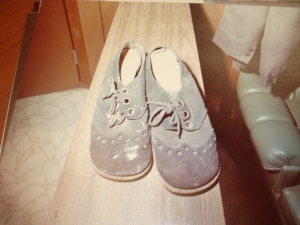 Susan Place's Blue Suede Shoes found at Crime Scene