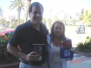 Me and  Best Selling Author Author  James swain